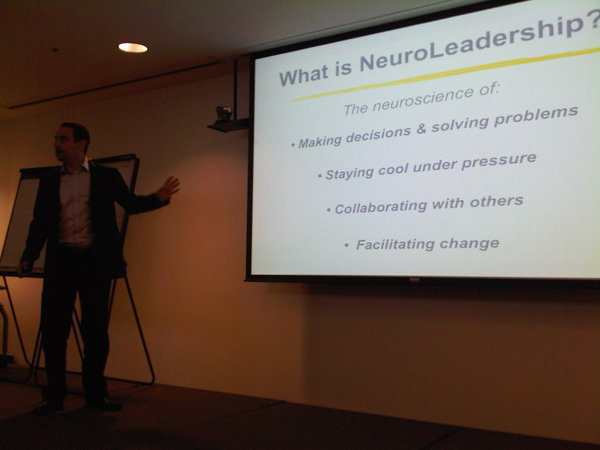 David Rock NeuroLeadership Future Salon